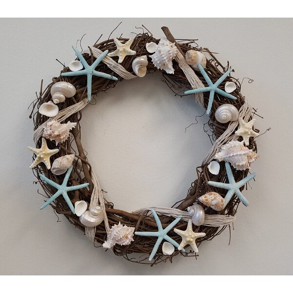 18 Seashell Wreath by From the Garden