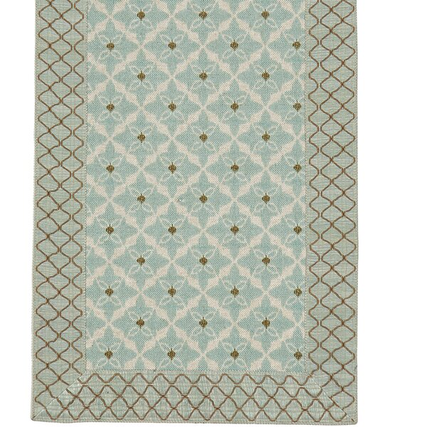 Avila Arlo Ice Table Runner by Eastern Accents
