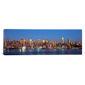 'New York City, New York State' Photographic Print on Canvas by East Urban Home