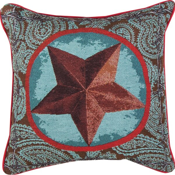 Western Star Throw Pillow by Manual Woodworkers & Weavers