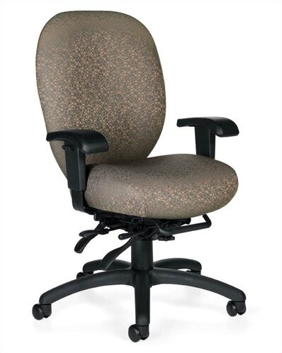 Mallorca Desk Chair by Global Total Office