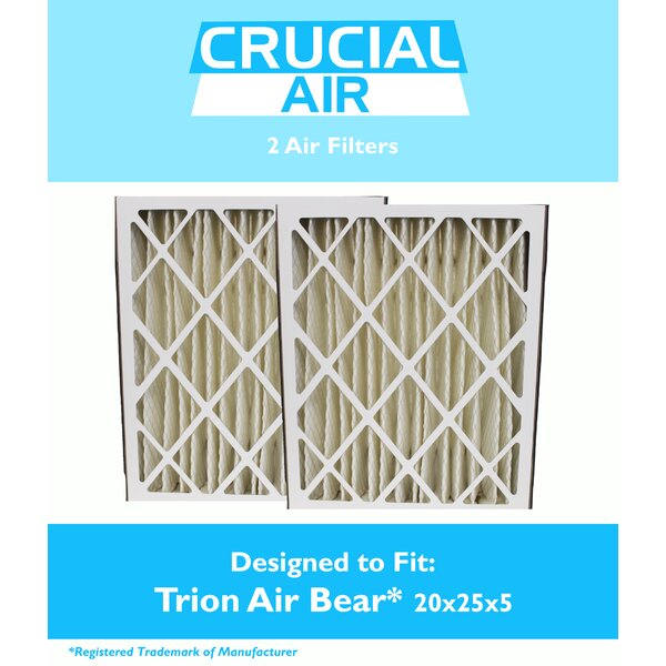 Trion Bear Air Filter (Set of 2) by Crucial