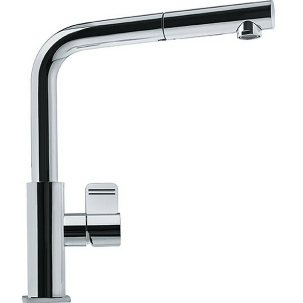 Mythos Pull Out Single Handle Kitchen Faucet by Franke