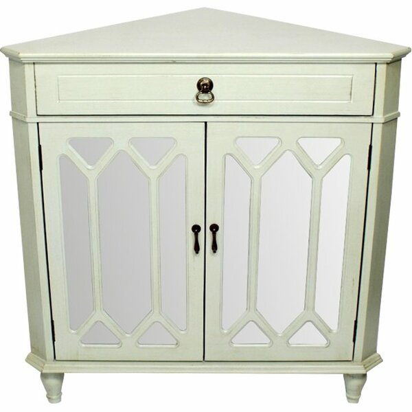Lechlade 2 Door Corner Accent Cabinet By Highland Dunes