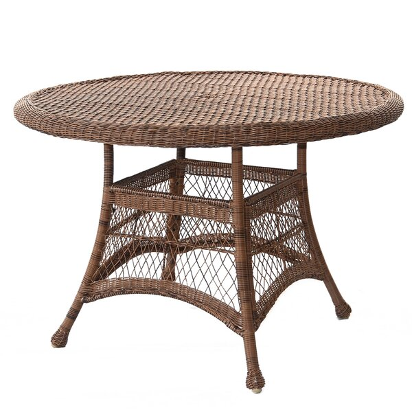 Starcher Wicker Dining Table by Charlton Home