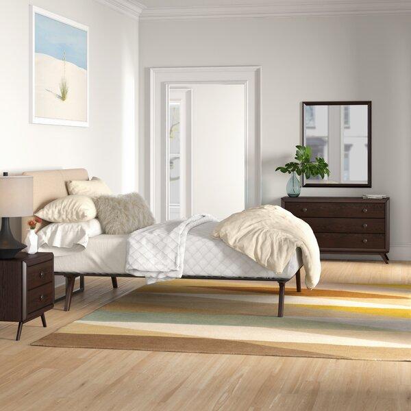 Arabella Queen Platform 4 Piece Bedroom Set by Foundstone