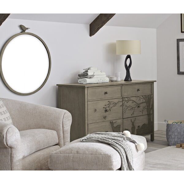 Forest Animal 6 Drawer Double Dresser with Mirror by ED Ellen DeGeneres