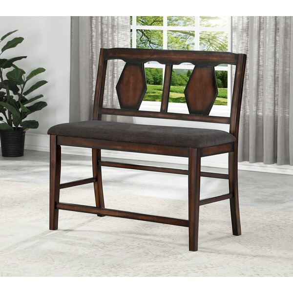 Canady Wood Bench by Darby Home Co Darby Home Co