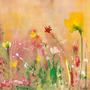 'In The Summer Time' by Deborah Brenner Painting Print on Wrapped Canvas by GreenBox Art
