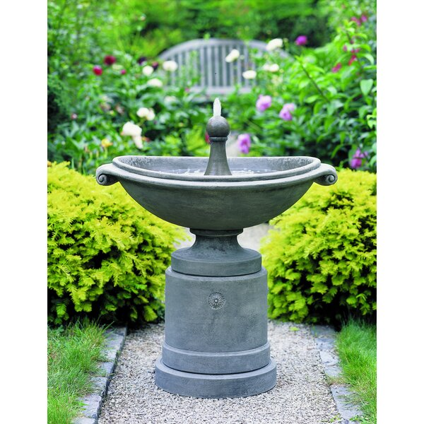 Medici Concrete Ellipse Fountain by Campania International