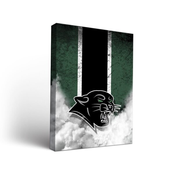 NCAA Vintage Design Framed Graphic Art on Wrapped Canvas by Victory Tailgate
