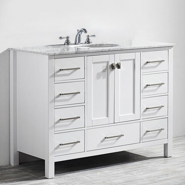 Newtown 48 Single Bathroom Vanity by Beachcrest Home