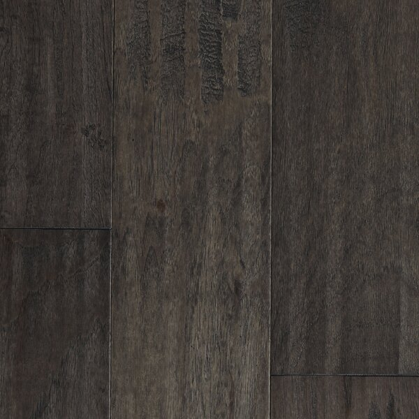Amsterdam 5 Engineered Hickory Hardwood Flooring in Coal by Branton Flooring Collection