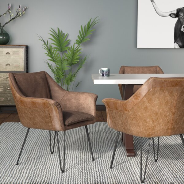 Hartfo Upholstered Dining Chair (Set of 2) by Trent Austin Design
