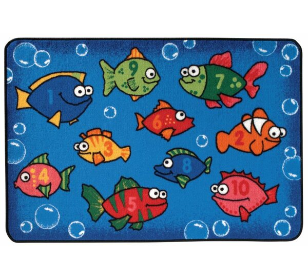 Something Fishy Kids Rug by Kids Value Rugs