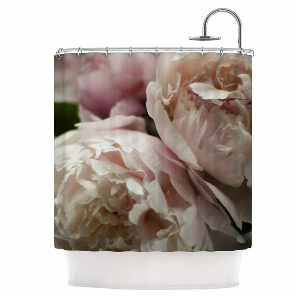 Peonies Shower Curtain by East Urban Home