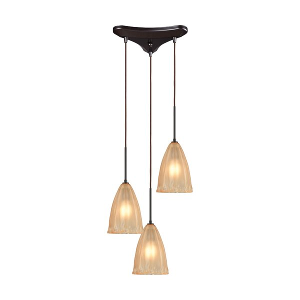 Mejorado 3-Light Pendant by Bay Isle Home