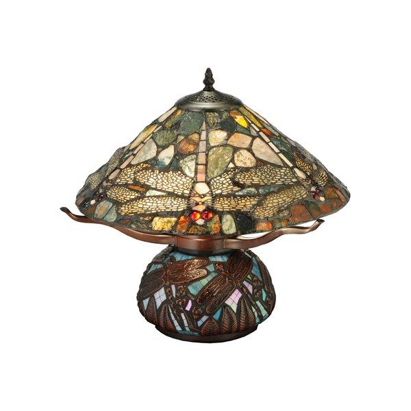 Dragonfly Cut Agata 16.5 Table Lamp by Meyda Tiffany