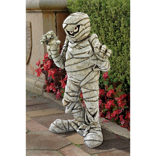 Wrapped Too Tight Garden Mummy Statue by Design Toscano