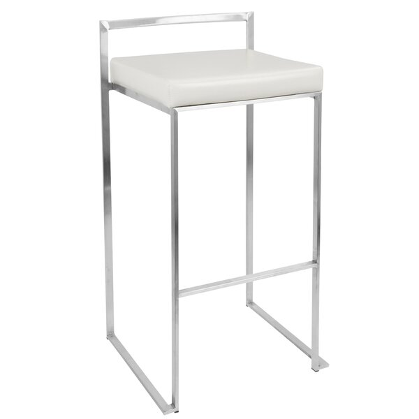 Gary 30.75 Bar Stool (Set of 2) by Wade Logan