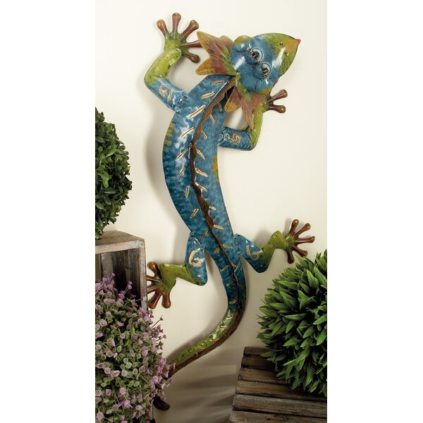 Gecko Statue by Cole & Grey