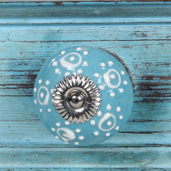 Handpainted Birch Cabinet Novelty Knob Multipack (Set of 6) by Intrade Global