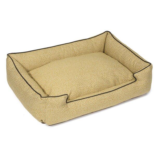 Flicker Premium Cotton Lounge Dog Bed by Jax & Bones