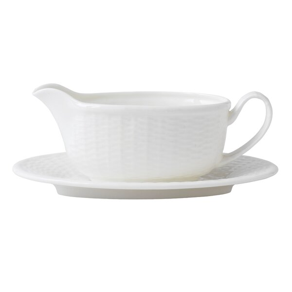 Nantucket Basket Gravy Boat by Wedgwood