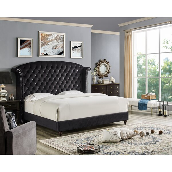 Abigale Upholstered Platform Bed by Rosdorf Park