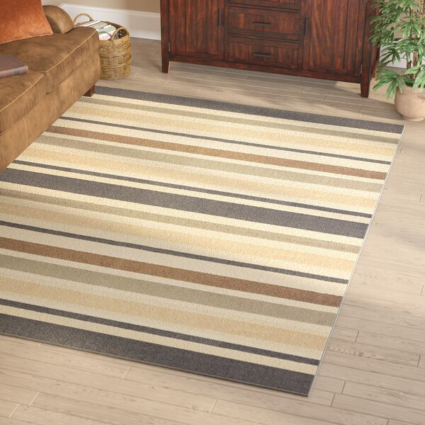Giovanni Beige/Brown Area Rug by Loon Peak