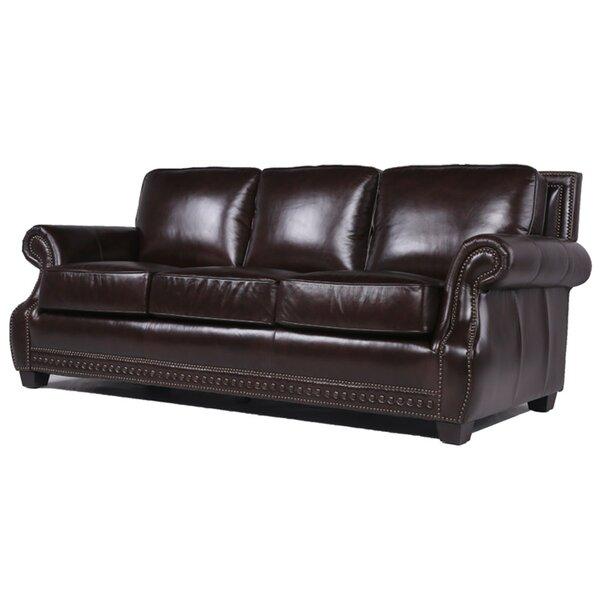 Diana Leather Sofa by Trent Austin Design
