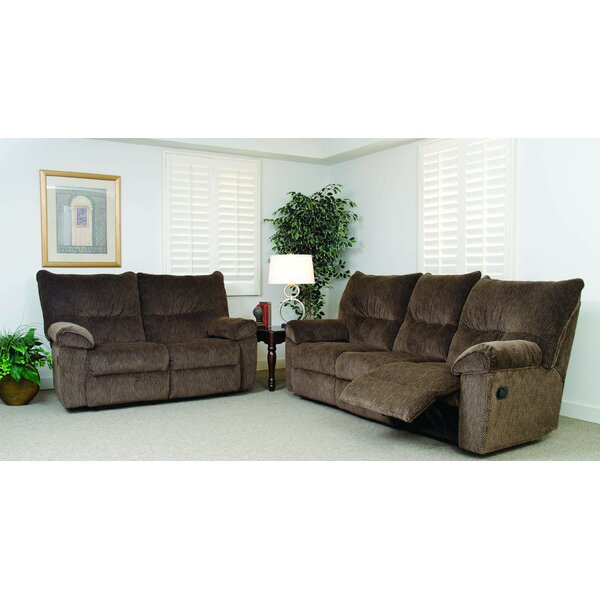 Configurable Reclining Living Room Set by Serta Upholstery