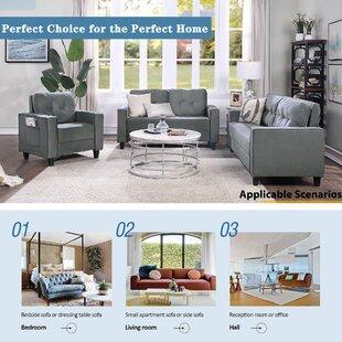Jiwoo 3 Piece Living Room Set by Latitude Run®