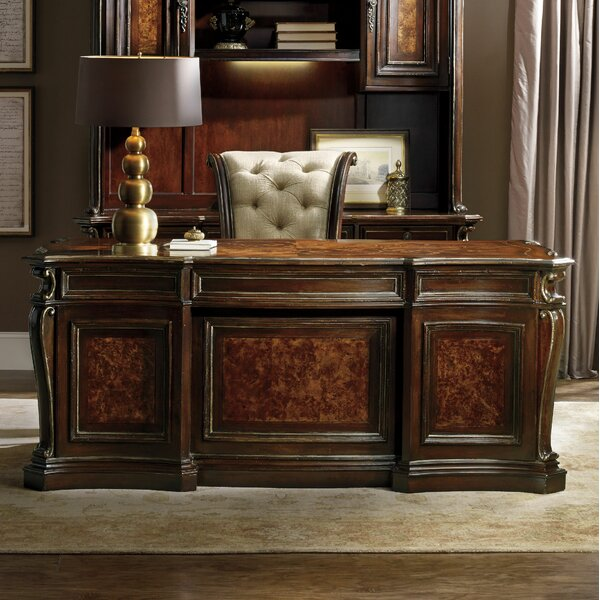Grand Palais Executive Desk by Hooker Furniture