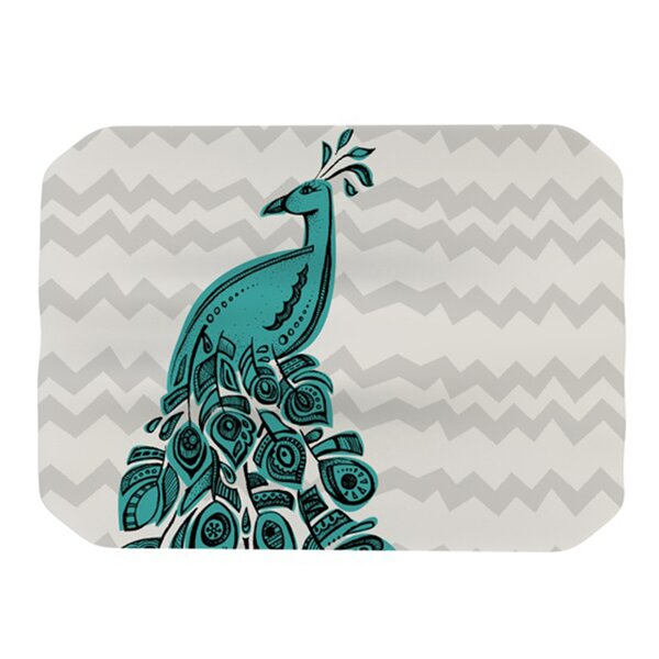 Peacock Placemat by KESS InHouse