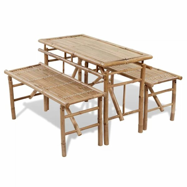 Vivian 3 Piece Dining Set Bayou Breeze W002653385