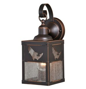 Lane 1-Light Outdoor Wall Lantern By Loon Peak Outdoor Lighting