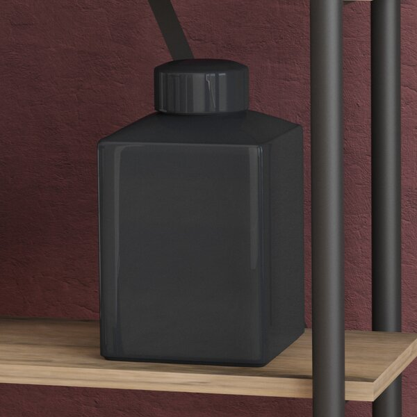 Cherly Black Rectangular Vase by Darby Home Co