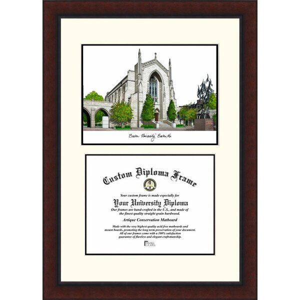NCAA Boston University Legacy Scholar Diploma Picture Frame by Campus Images