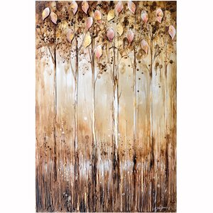 Revealed Artwork Serene Painting on Wrapped Canvas by Yosemite Home Decor