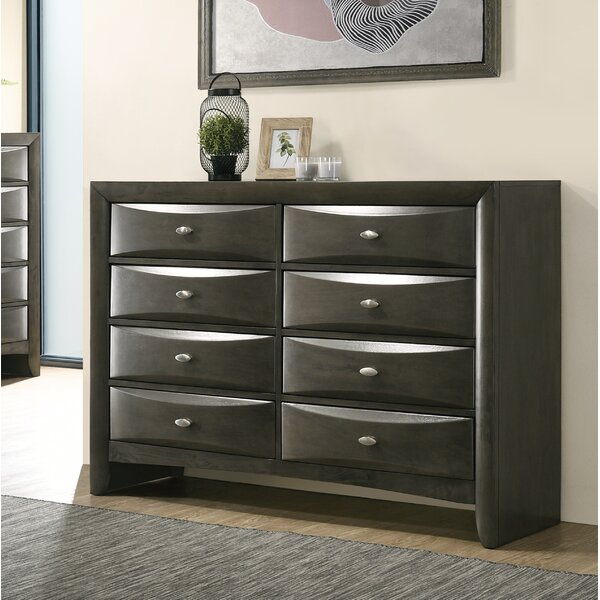 Carle 8 Drawer Double Dresser by Red Barrel Studio