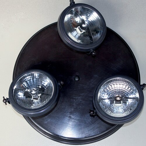 Morwenna 3 Light Ceiling Spotlight Williston Forge Finish: