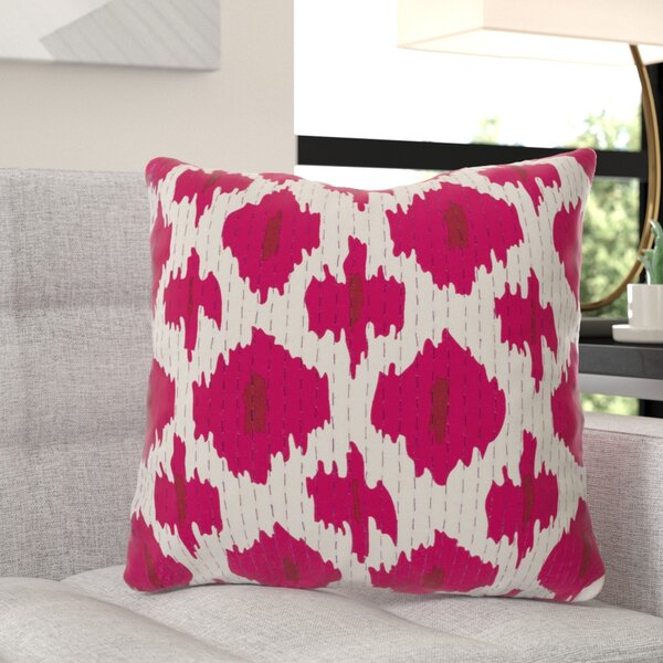 Marquez Kantha Throw Pillow by Wade Logan