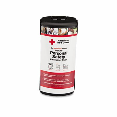 Deluxe Personal Safety Emergency Pack, 31 Pieces, Plastic Case by First Aid Only™