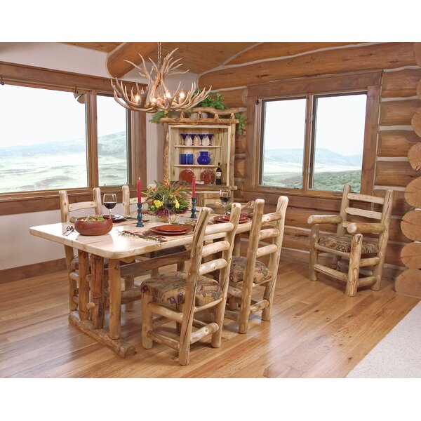 Aspen Heirloom Solid Wood Dining Table by Mountain Woods Furniture