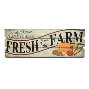 'Fresh from the Farm' Textual Art Plaque by Wilco Home