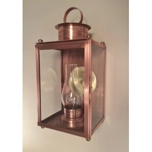 Compare prices Cora Single Stack Led Outdoor Wall Lantern By Longshore Tides