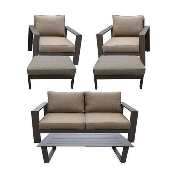 Colorado 6 Piece Sofa Seating Group with Cushions