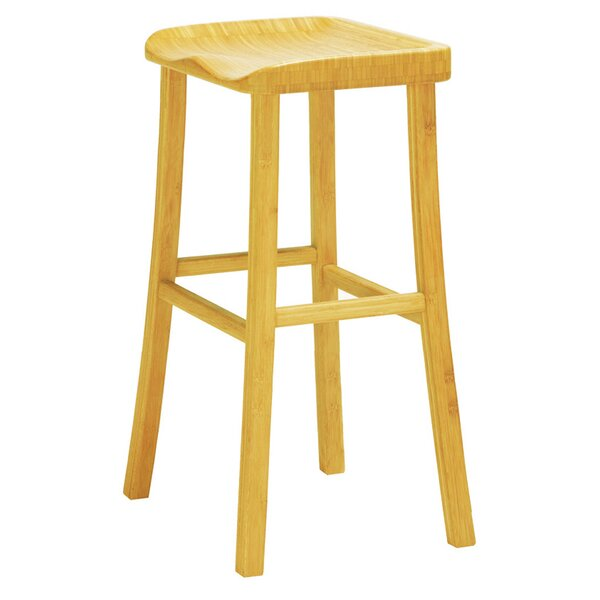 Tulip 30 Bar Height  Stool (Set of 2) by Greenington