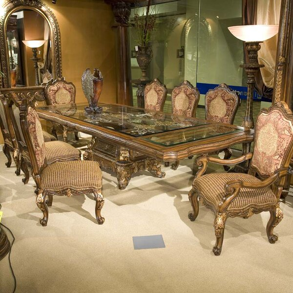 Regalia 9 Piece Extendable Dining Set by Benetti's Italia Benetti's Italia